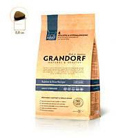 Grandorf Грандорф Кролик с рисом для взрослых кошек, GRANDORF Rabbit & Rice ADULT STERILIZED, 0,4 кг