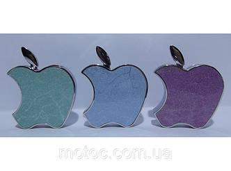 Зажигалка турбо в виде apple три цвета текстурная. Турбинка
