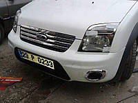 Хром накладка на капот и решетку  Ford Transit Connect/Tourneo 2009-2012
