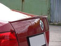 Спойлер лип багажника ABS под покраску Volkswagen Polo sedan 2009-