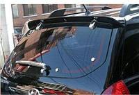 Накладки на заднее стекло Hyundai Tucson 2004-2014 (ABS пластик)