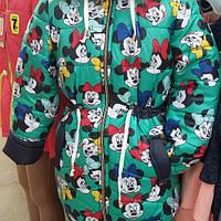 Курточка зимняя Микки