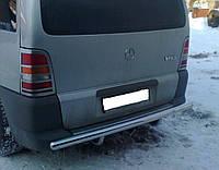 Хром накладки на стопы Mercedes-Benz Vito W638 1996-2003 (нержавеющая сталь)