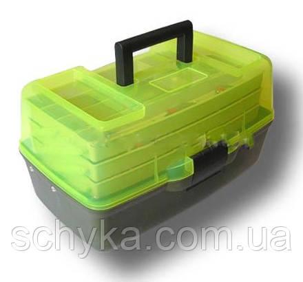 Ящик 3х-полочный с прозрачной крышкой  Aquatech - 1703 Т