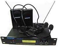 Бездротовий наголовний радіомікрофон на базі SHURE SM58