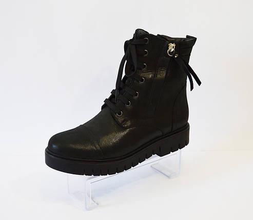 Ботинки кожаные женские Molly Bessa, фото 2