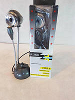 Web-камера USB2.0 гибкая на присоске с микрофоном t4