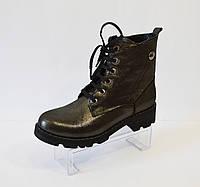 Ботинки демисезонные кожаные Molly Bessa