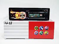 Автомагнитола пионер Pioneer 3218 DVD USB+SD съемная панель, фото 2