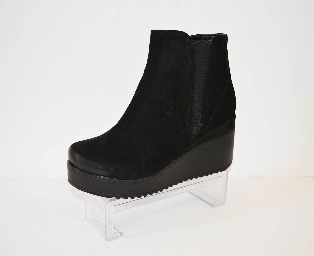 Ботинки замшевые осенние Guero