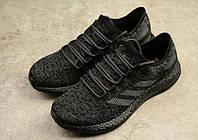Кроссовки мужские Adidas Pure Boost black, фото 1