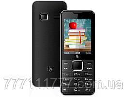 """Мобильный телефон Fly FF243 Black черный (2SIM) 2,4"""" 32/32МБ+SD 0.3МП оригинал Гарантия!"""