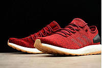 Кроссовки мужские Adidas Pure Boost red, фото 1