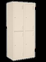 Шкаф одежный металлический 400/4