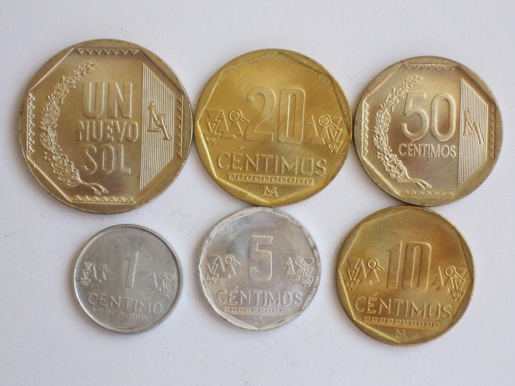 Перу 6 монет