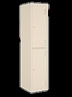 Шкаф одежный металлический 400 - 2 двери