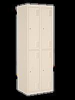 Шкаф одежный металлический 300/4