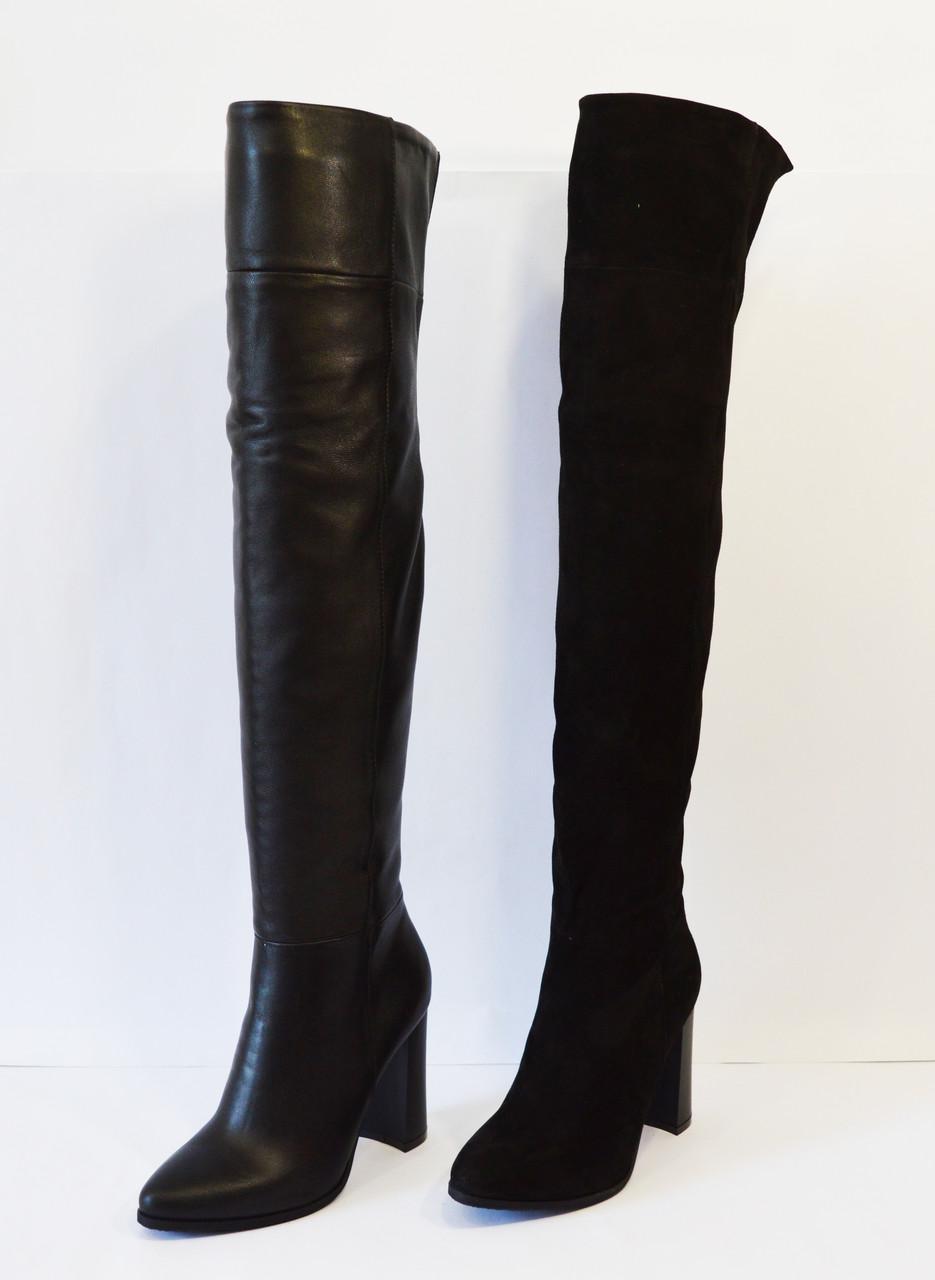Сапоги женские на высоком каблуке Nivelle