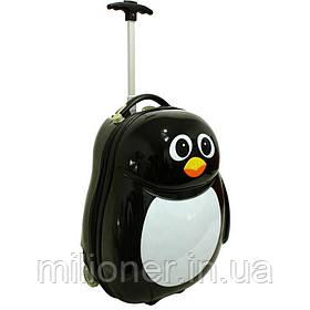 Детский чемодан сумка RGL пингвин