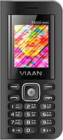 """Мобильный телефон Viaan V11 black черный (2SIM) 2"""" 32/32МB+SD 0.8МП  оригинал Гарантия!"""