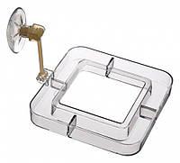 Кормушка Trixie Feeding Rim для аквариума, пластик, 7х7 см