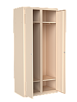 Шкаф для одежды металлический 400/2 П4