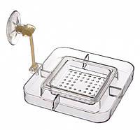 Кормушка Trixie Feeding Rim with Sieve для аквариума, пластик, 7х7 см