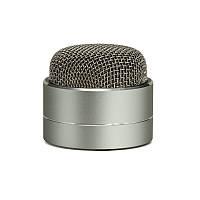 Karaoke, Портативная Bluetooth колонка, 3 Вт, AUX, металлический корпус-703, под нанесение логотипа, фото 1