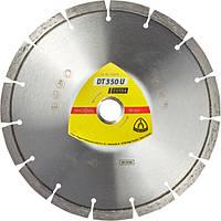 Алмазный отрезной круг Klingspor DT 350 U ЕXTRA 230 x 22,23