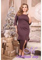 Женское миди платье большого размера (р. 48-90) арт. Флорида