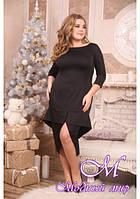 Женское платье миди большого размера (р. 48-90) арт. Флорида