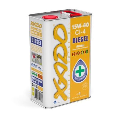 Моторное масло XADO Atomic Oil 15W-40 CI-4 Diesel 4l