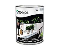 Эмаль уретан-алкидная TEKNOS FUTURA 40 универсальная транспарентный (база 3) 0,9л