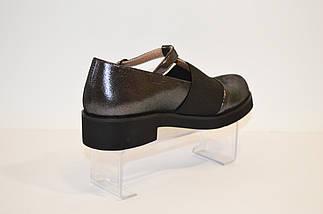 Туфлі жіночі шкіряні Guero 37 розмір 24 см, фото 3