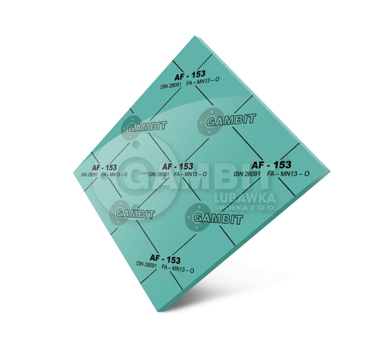 Паронит безасбестовый Gambit AF-153 (аналог - паронит ПОН)