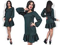 Платье (42-44; 44-46) —  Французский трикотаж купить оптом и в розницу в одессе  7км
