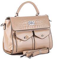 Женская сумка S321 beige.Купить сумки оптом и в розницу дёшево в Украине