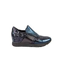 Туфли женские спортивные Sico Fusion 7612 син. кож.