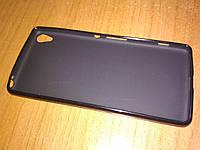 Чехол накладка Sony Xperia XA F3112 чёрный Utty Regular TPU