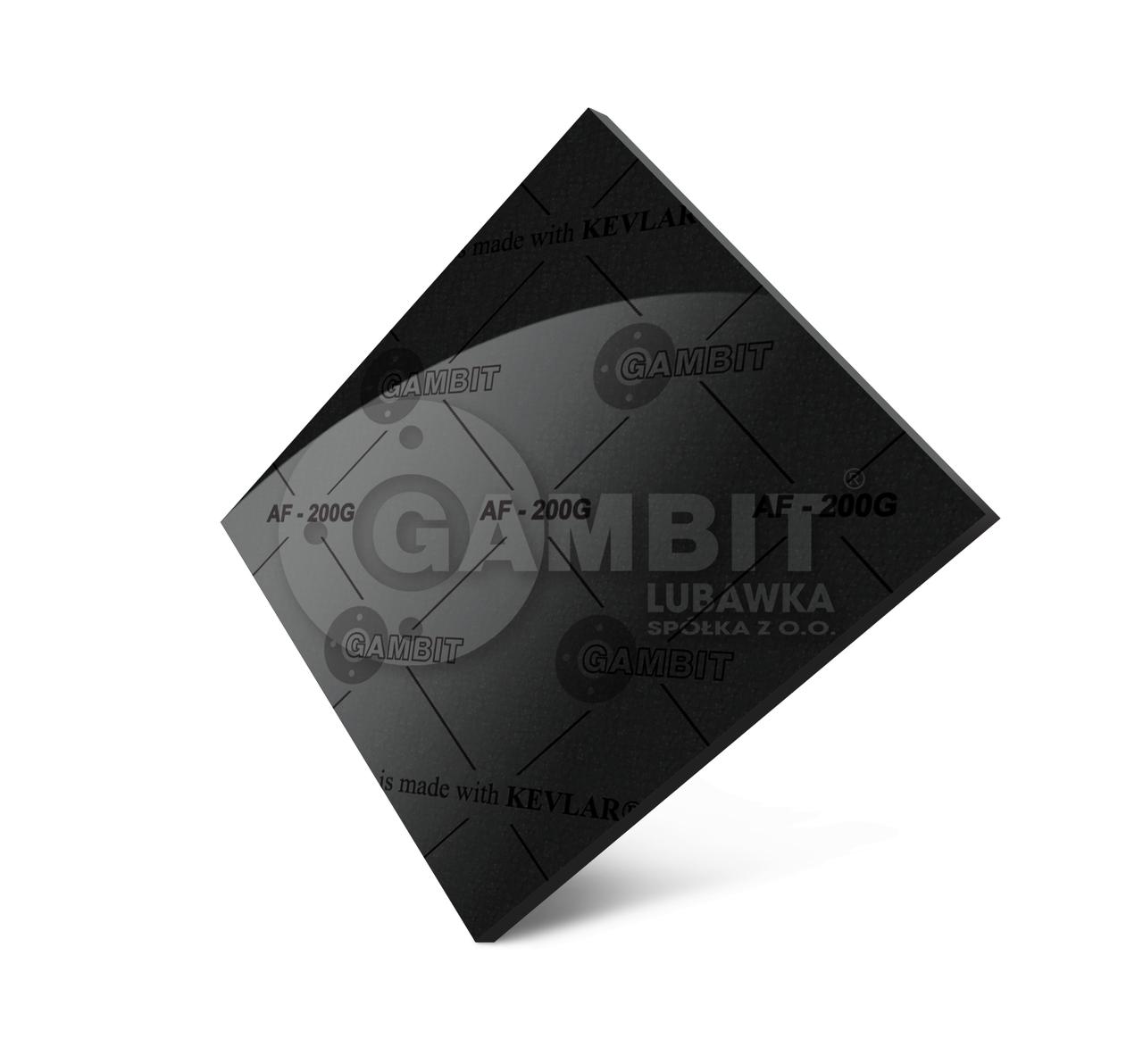 Паронит безасбестовый Gambit AF-200G (аналог - паронит ПМБ)