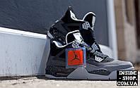 Женские (подростковые) кроссовки Air Jordan 4 Retro Fear Pack