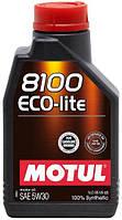 Моторное масло Motul 8100 Eco-lite 5W-30 1 л (839511 / 104987)