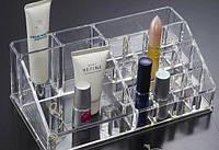 Компактный Акриловый Органайзер для хранения косметики Cosmetic Organizer B