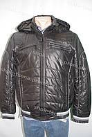 Зимняя мужская куртка с капюшоном черная