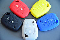 Чехол на ключ авто ключа для Opel (Опель, Виваро) Мовано, MOVANO, VIVARO - 2кнопки