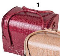 Чемодан, маникюрная сумка для мастера, кож.зам, лак, в ассортименте