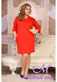 Женское повседневное платье большого размера (р. 48-90) арт. Креш