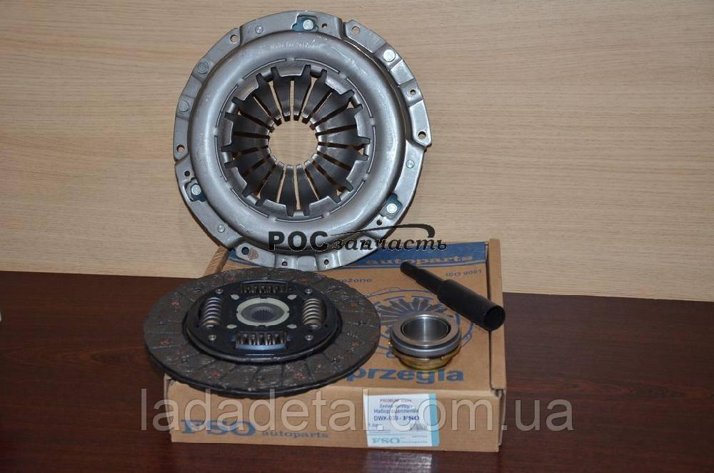 Сцепление Авео 1,5 FSO (комплект: корзина, диск, выжимной)