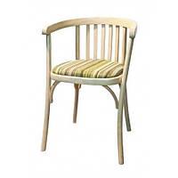 Кресло венское с мягким сиденьем