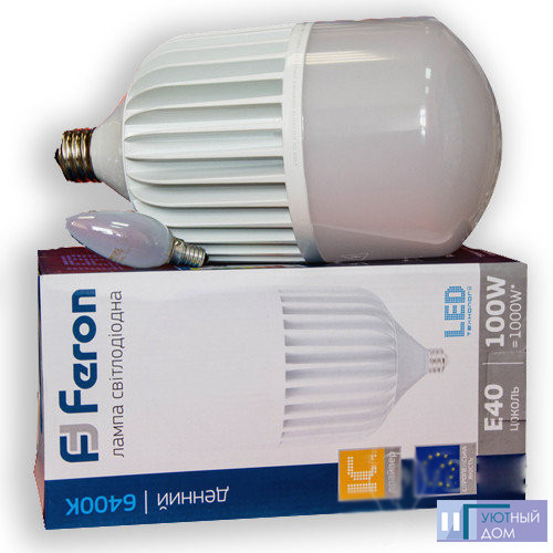 Светодиодная лампа Feron LB-65 100W